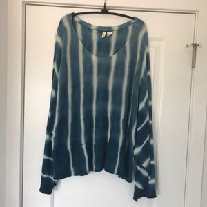 Anthropologie sweater tunic poncho size Large